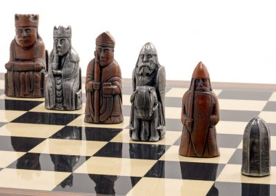 Berkeley Chess Lewis Chessmen 2nd Edition Metallic