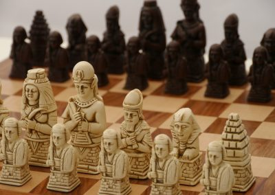 Egyptian Chessmen Russet Brown1