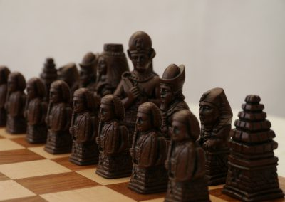 Egyptian Chessmen Russet Brown2