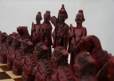Mandarin Chessmen Cardinal Red2