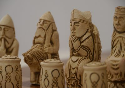 Medieval Chessmen Russet Brown1