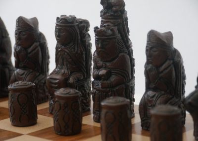 Medieval Chessmen Russet Brown2
