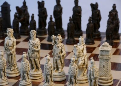 Roman Chessmen Russet Brown1