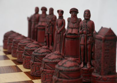 Scottish Chessmen Cardinal Red2