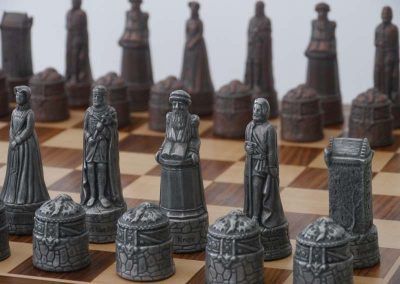 Scottish Chessmen Metallic1