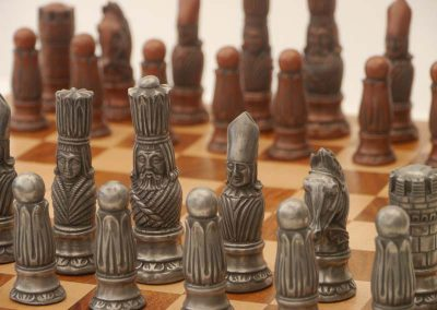Victorian Chessmen Metallic1